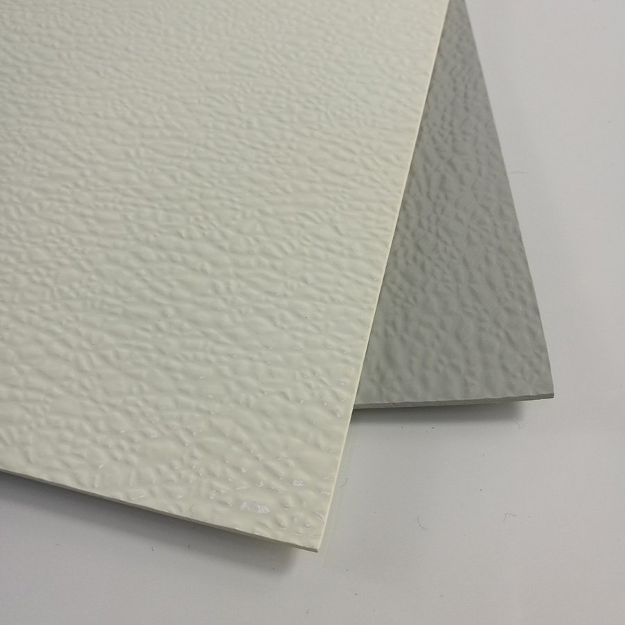 FRP Decorative embossed plate for wall covering and roofing