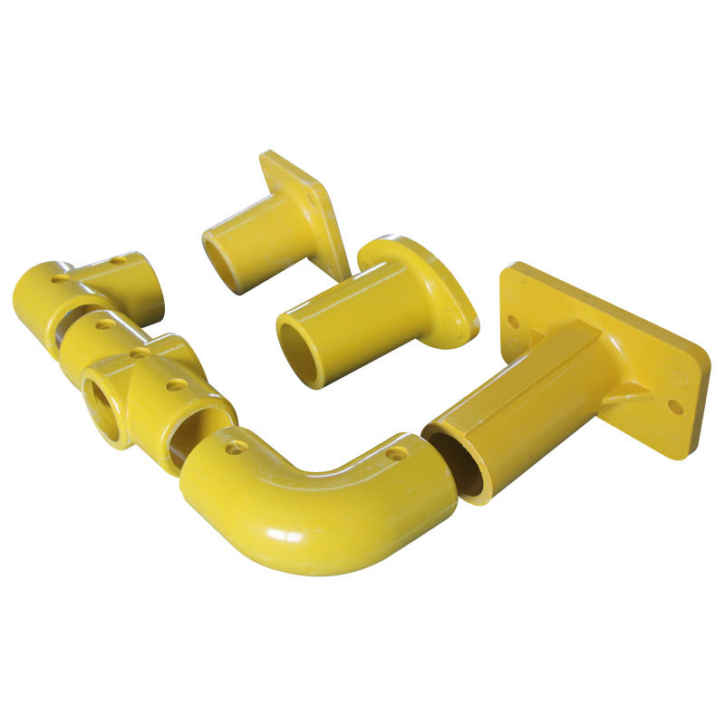 FRP handrail fittings